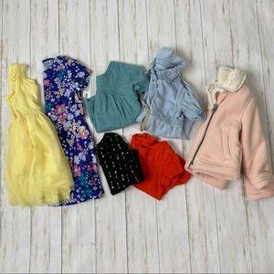 Old Navy Toddler Dress Shirt 7 Piece Bundle